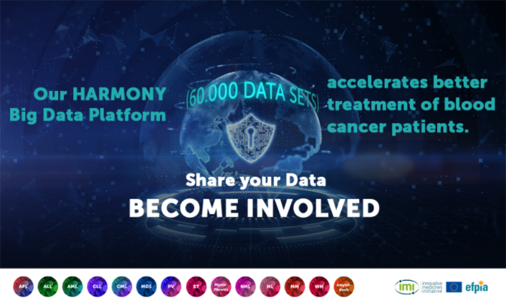 #BigDataforBloodCancer: Become involved in the HARMONY Alliance!