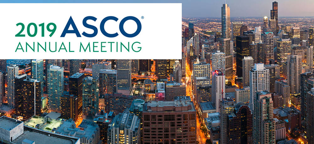 Let's connect at ASCO2019 organized by the American Society of Clinical Oncology