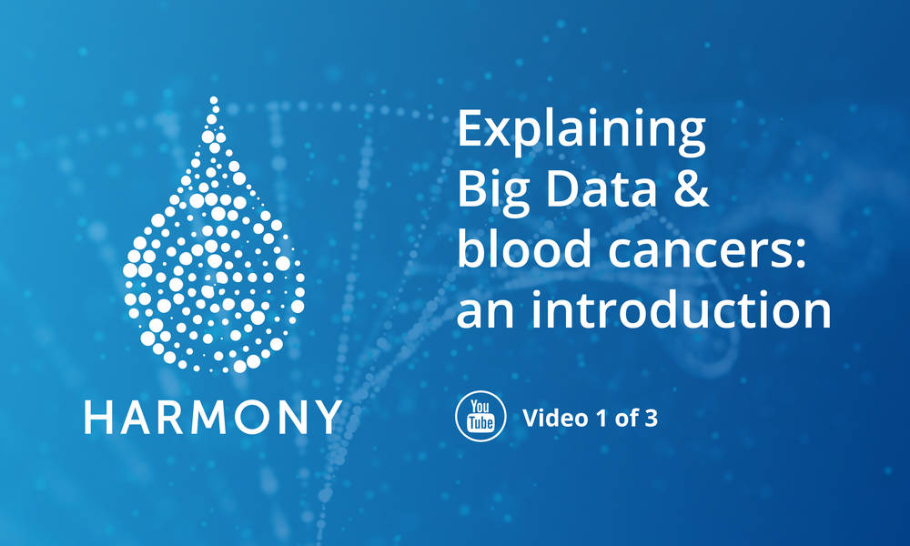 Launching 3 new HARMONY explanatory videos about big data in hematology