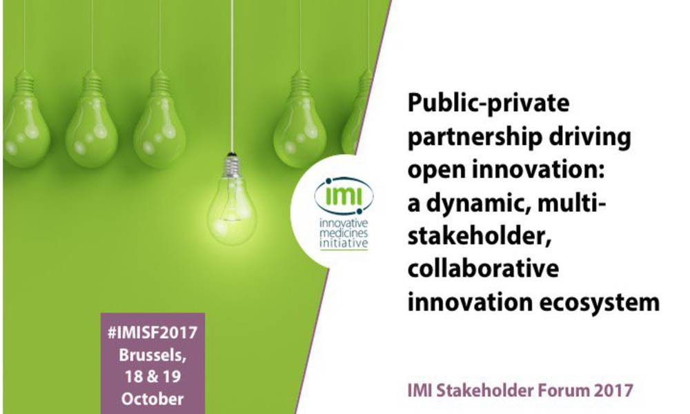 HARMONY Represented at the IMI Stakeholder Forum 2017