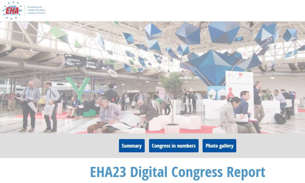 Find HARMONY in the EHA23 digital congress report