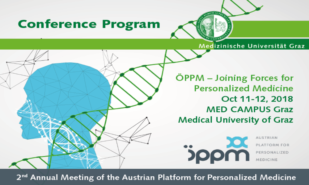 Medical University of Vienna representing HARMONY at Austrian Platform for Personalized Medicine, ÖPPM