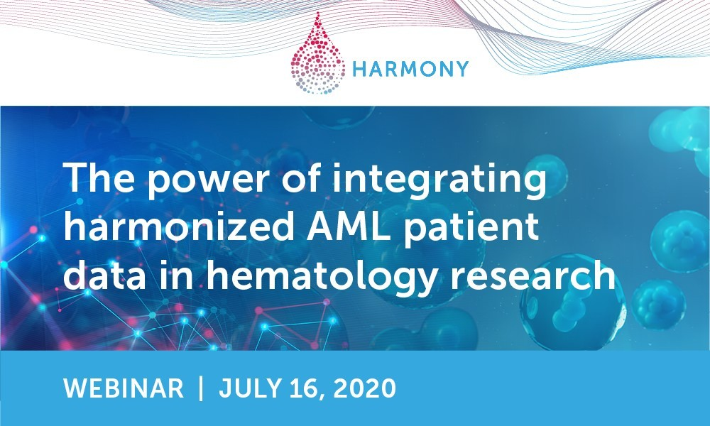 HARMONY-EHA webinar: The power of integrating harmonized AML patient data in hematology research