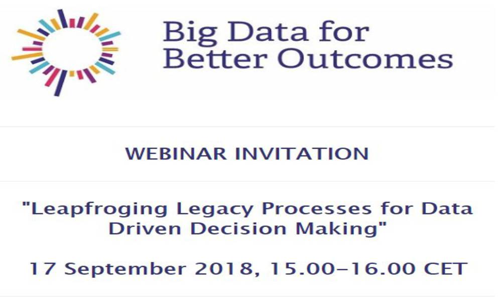 BD4BO webinar Leapfrogging Legacy Processes for Data Driven Decision Making