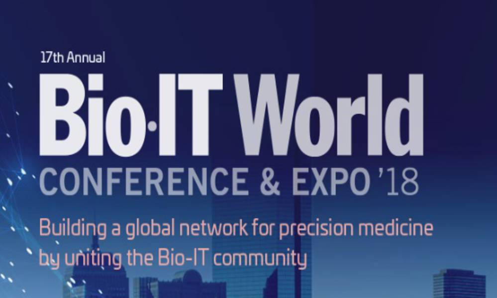 HARMONY present at Bio-IT World Conference & Expo 2018