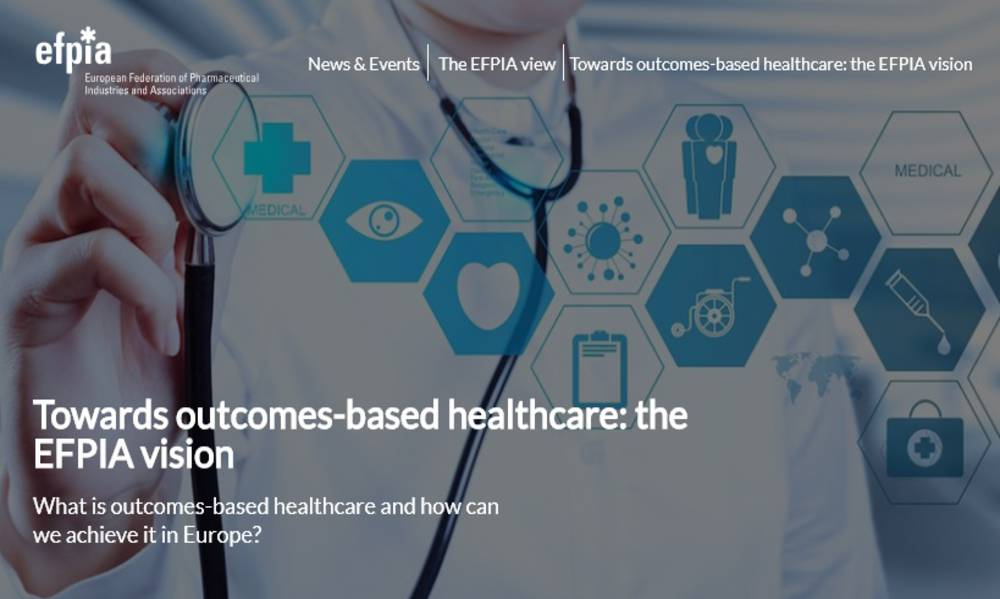 Towards outcomes-based healthcare: the EFPIA vision