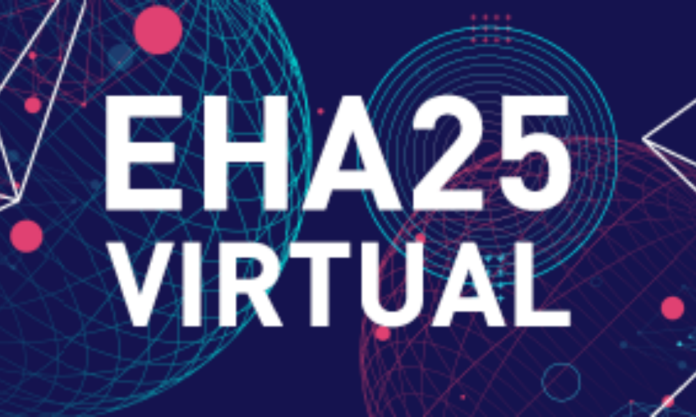 Where to find us at the 25th Annual Congress of EHA, virtual edition Virtual Edition.
