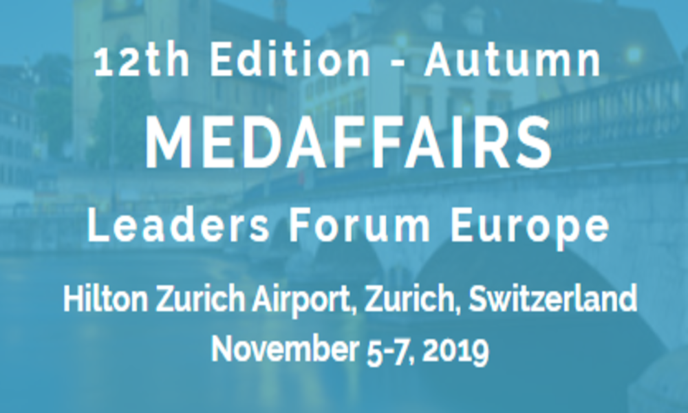 HARMONY presenting at the 12th edition Medaffairs Leaders Forum Europe
