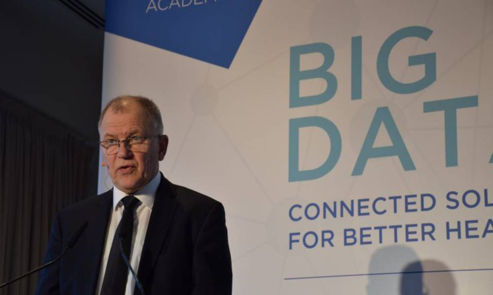 EU's Health Commissioner Andriukaitis: Big data has 'enormous' potential to optimize healthcare