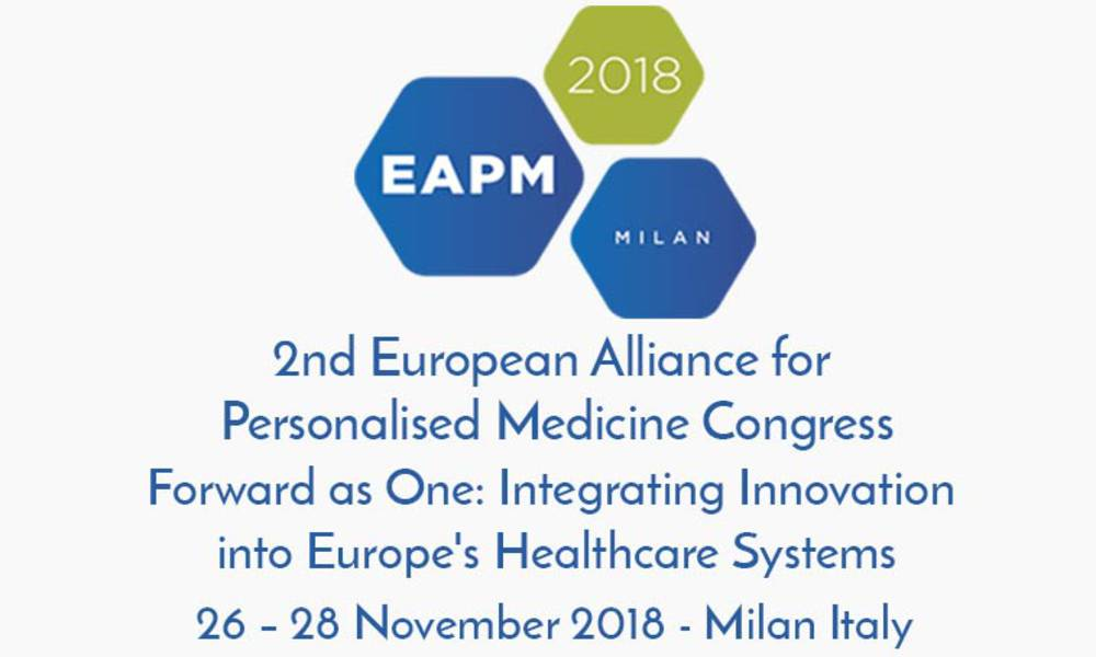 2nd EAPM Annual Congress organized by HARMONY Partner: European Alliance for Personalised Medicine