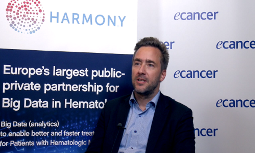 Watch the video of Jan Geissler of HARMONY Partner LeukaNet, explaining the potential of HARMONY for patients