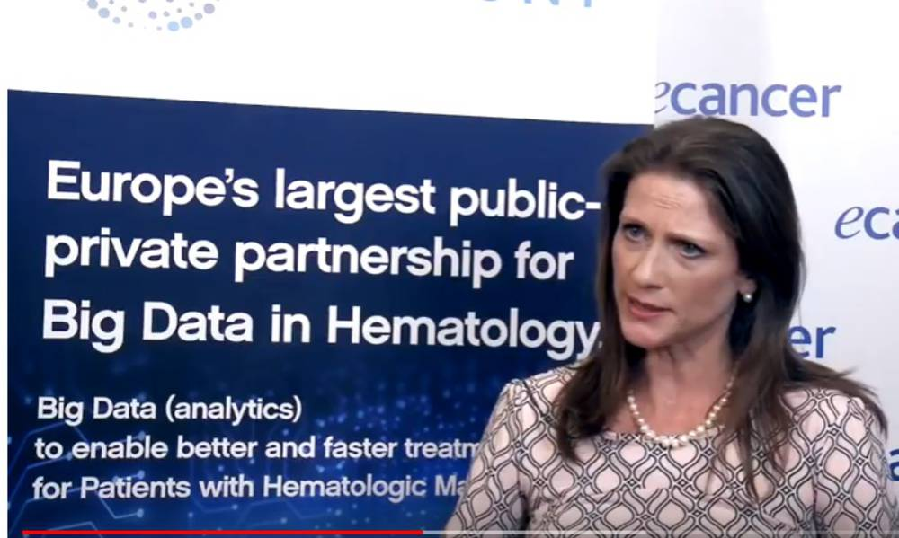 Prof Natacha Bolaños, Lymphoma Coalition, explains the patient experience in HARMONY