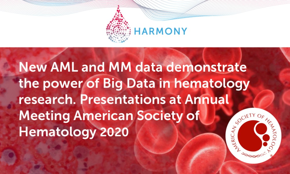 HARMONY presents new results at the virtual 62nd Annual Meeting of the American Society of Hematology