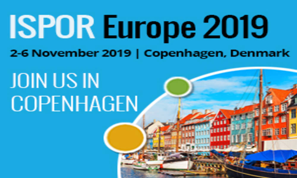 HARMONY Partner NICE presenting scientific poster at ISPOR Europe 2019