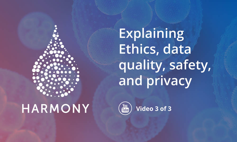 How does HARMONY ensure data quality, safety and privacy? Watch our video