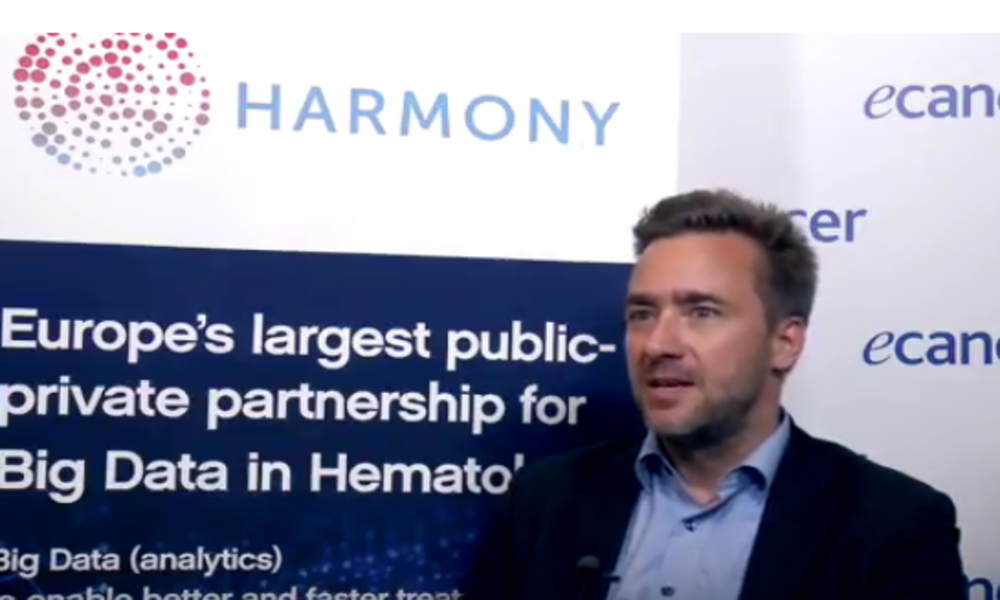 We believe in Big Data, Jan Geissler HARMONY Patient Cluster