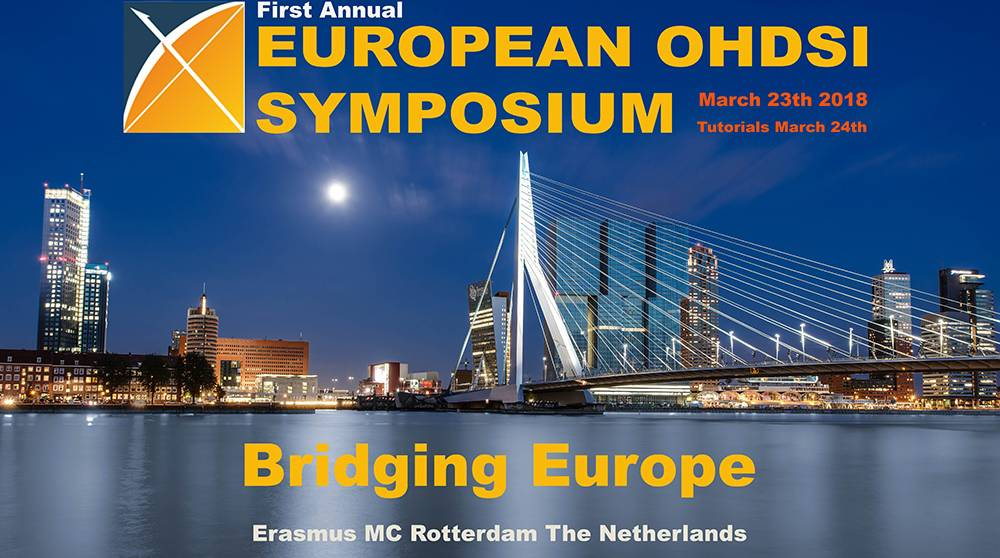 HARMONY presenting at OHDSI 1st Annual European Symposium