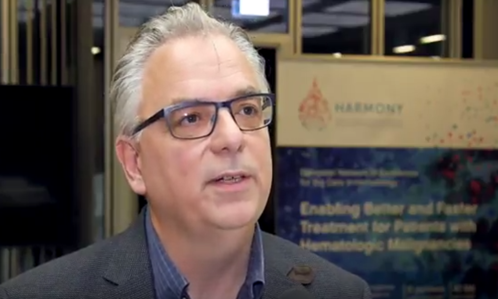 Listen to: Michel van Speybroeck, JPNV-JANSSEN, HARMONY Partner, WP4 Leader, about the data platform