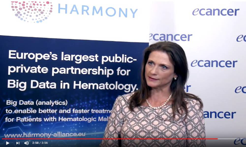 Listen to the interview with Prof Natacha Bolaños of the Lymphoma Coalition, HARMONY Patient Cluster