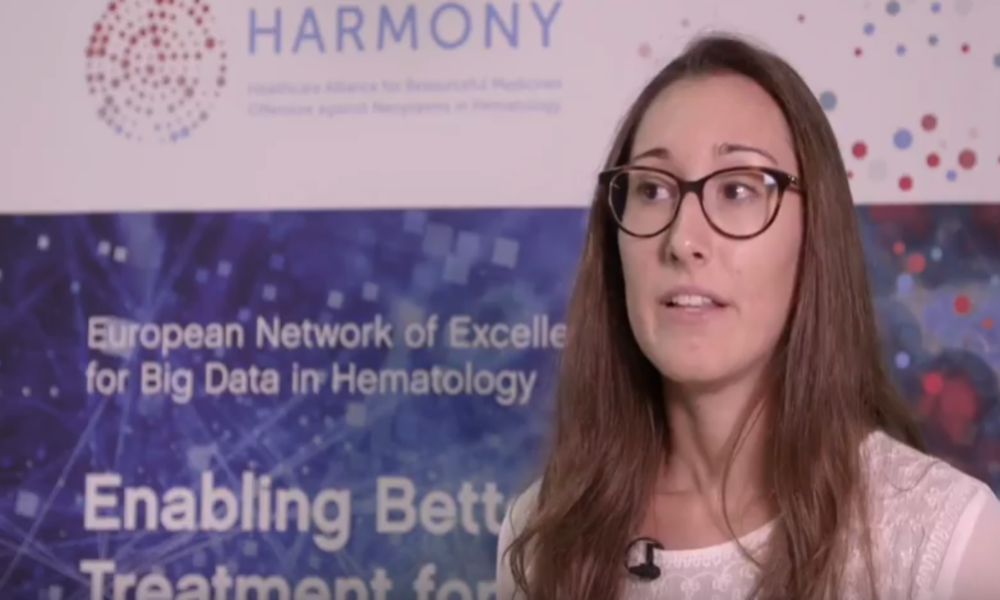 Ana Heredia Casanoves, GMV explains the HARMONY Data Platform work.
